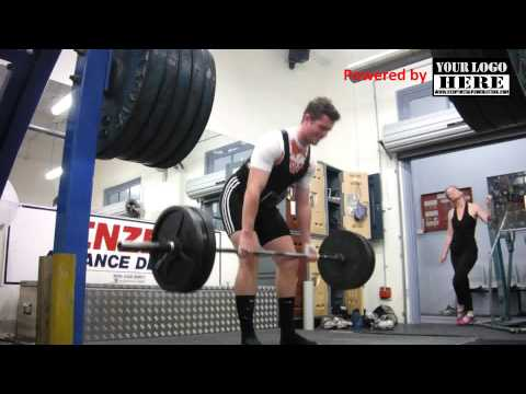 Powerlifting Training VLog w/e 17 Nov 2013 Image 1