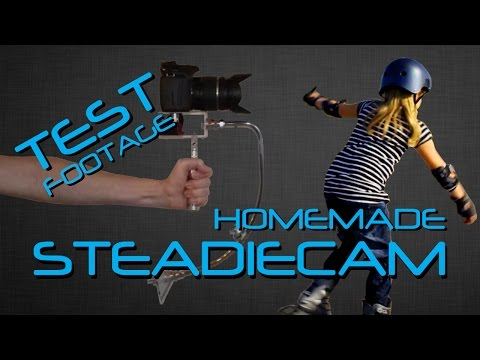 homemade steadicam test (Canon eos 550D / T2i)