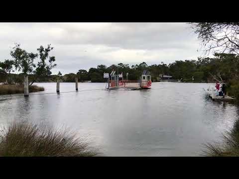 Molloy Island Ferry, Western Australia