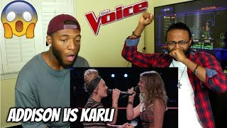 """Download Lagu The Voice 2017 Battle - Addison Agen vs. Karli Webster: """"Girls Just Want to Have Fun"""" (REACTION) Gratis STAFABAND"""