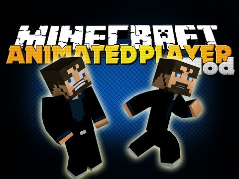 Minecraft Mod - Animated Player Mod - New Movements