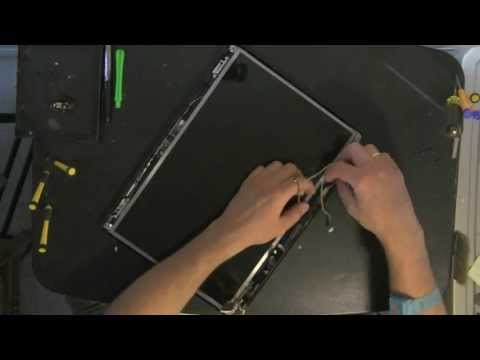 HP DV5 laptop take apart video. disassemble. how to open (Nothing Left) disassembly