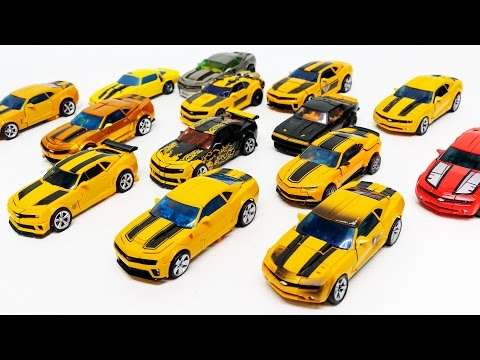 Transformers Movie Deluxe Class Bumblebee and Clifejumper Camaro 14 Vehicles Robot Car Toys