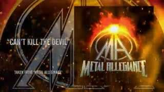 METAL ALLEGIANCE - Can't Kill The Devil (LYRIC VIDEO)