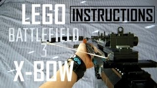 Lego X-BOW Instructions + Assembly