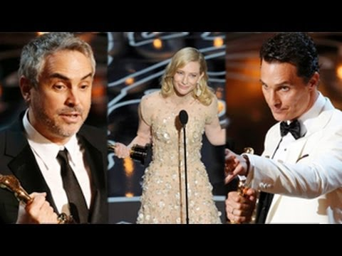 Oscars 2014 Winners Full List -- Gravity Wins Big