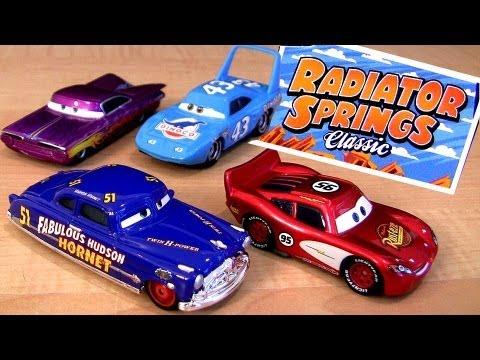 Radiator springs classic cars toys r us tru diecast disney for Bureau cars toys r us