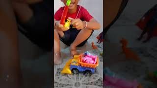 Car Toys  fish Toys  Playing For Children  Construction Truck and Excavator For Kids
