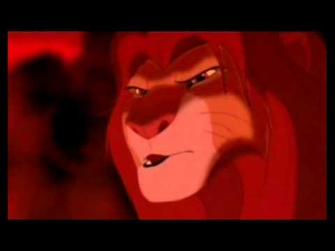 simba and scar fight scene - brothers fight soundtrack from thor movie