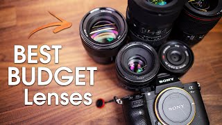 Sony A7III Best Budget Lenses