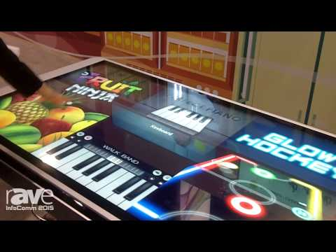 InfoComm 2015: Wistron Showcases 55″, 65″ Touch Display for Android and Microsoft Applications