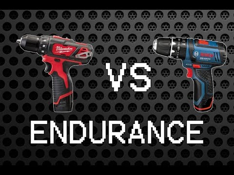 Milwaukee M12 BDD vs Bosch GSB 10.8-2-LI [12/10.8V Endurance Part 2]