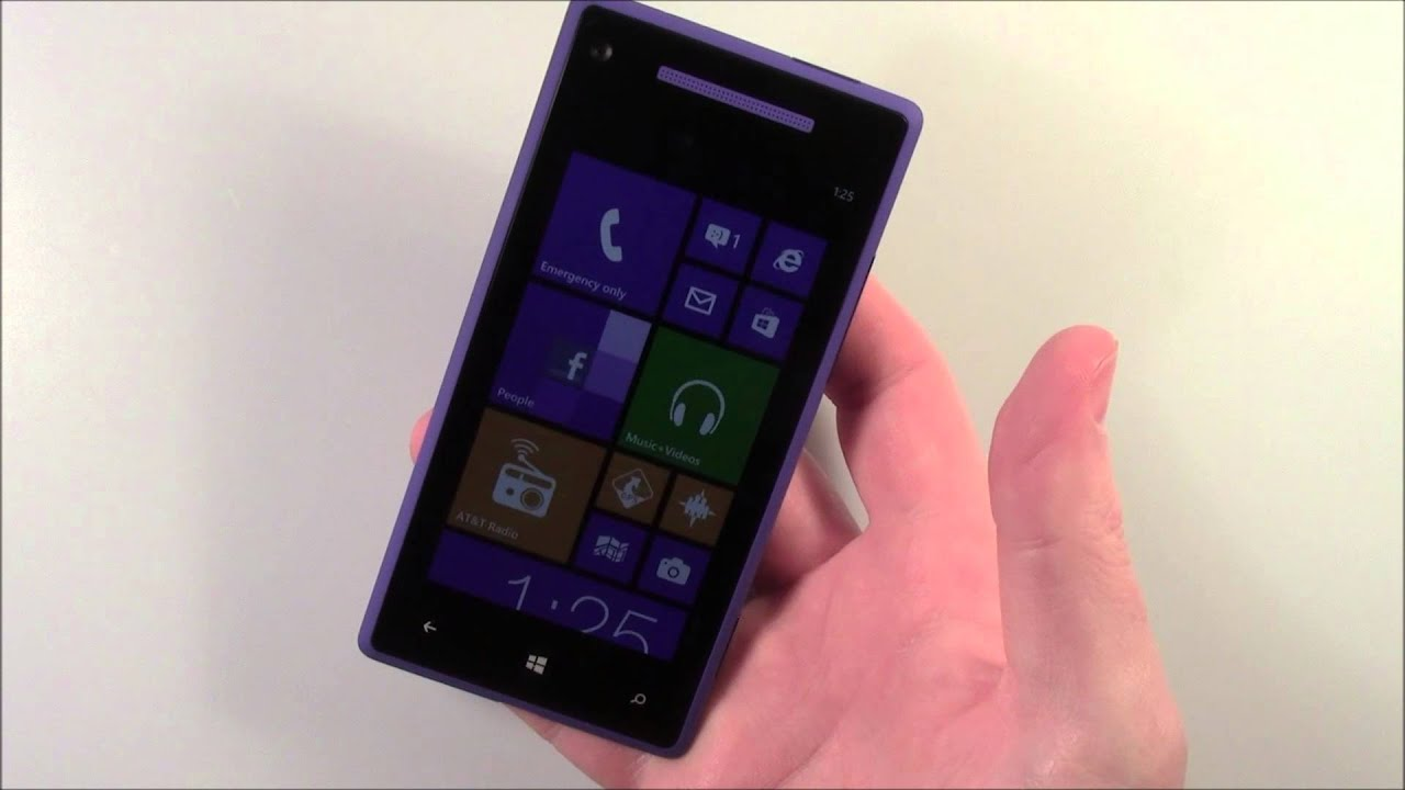 htc 8x windows phone from at t first impressions youtube