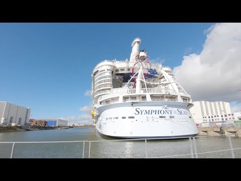 Symphony of the Seas delivered to Royal Caribbean
