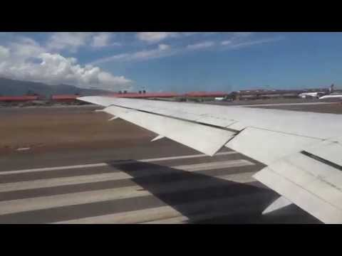 Hawaiian Airlines 767-300 Takeoff at Maui - Kahului Airport OGG