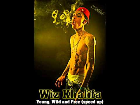 Wiz Khalifa - Young, Wild & Free (speed Up) video