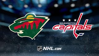 Kuznetsov, Holtby lead Capitals past Wild, 3-1