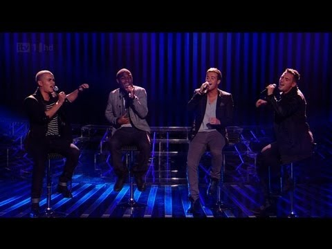 Can The Risk handle a bit of Bruno Mars? - The X Factor 2011 Live Show 2 (Full Version)