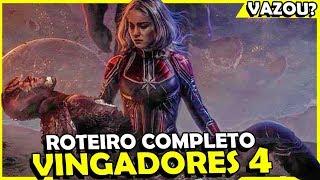 Vingadores 4: VAZOU ROTEIRO COMPLETO DO FILME, É VERDADE?