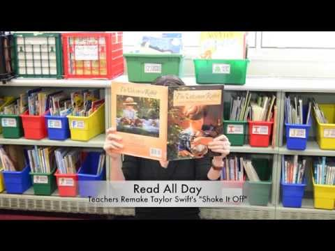 Read All Day : Teachers Remake Shake It Off By Taylor Swift