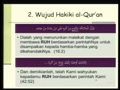 Al Qur'an (Ceramah Tarawih) 2012-08-14 | KH. Wahfiudin Sakam SE. MBA