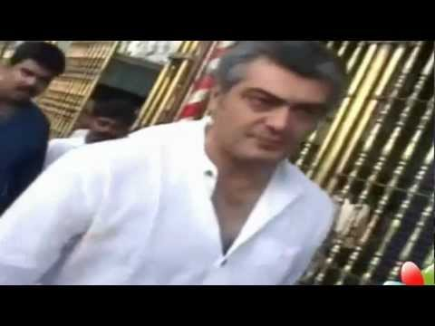 Thala Ajith, Chakri Toleti Visit Tirupathi Temple.mp4