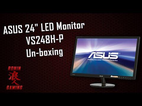 "Asus 24"" LED Monitor VS248H-P Un-boxing"