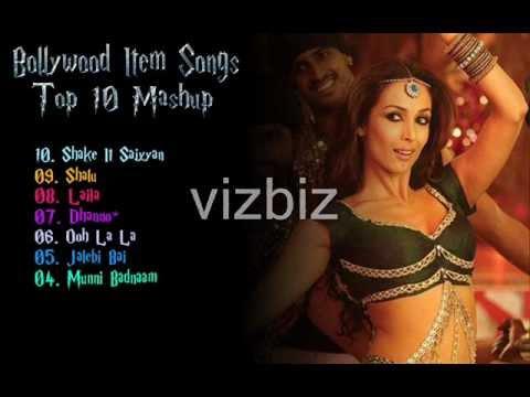 Bollywood Item Songs - Top 10 Mashup
