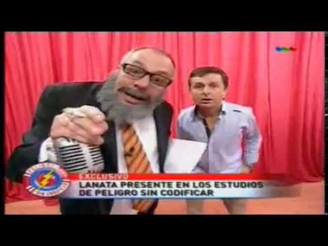 Visita de Jorge Lanata y la Chueca