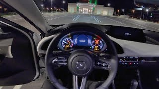 2019 Mazda3 AWD Sedan Premium Package - POV Night Drive/Final Impressions