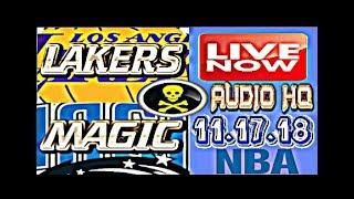 LAKERS vs MAGIC Live Full Game 11.17.18 Score and Starting Lineups