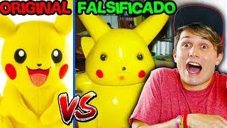 ORIGINAL VS FALSIFICADO ☆ BRINQUEDOS MUITO BIZARROS ☆