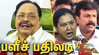 Duraimurugan Latest Speech | DMDK VS DMK | Sudhish
