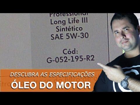 Dr CARRO Especificação do óleo, a durabilidade do motor nas letrinhas miúdas!