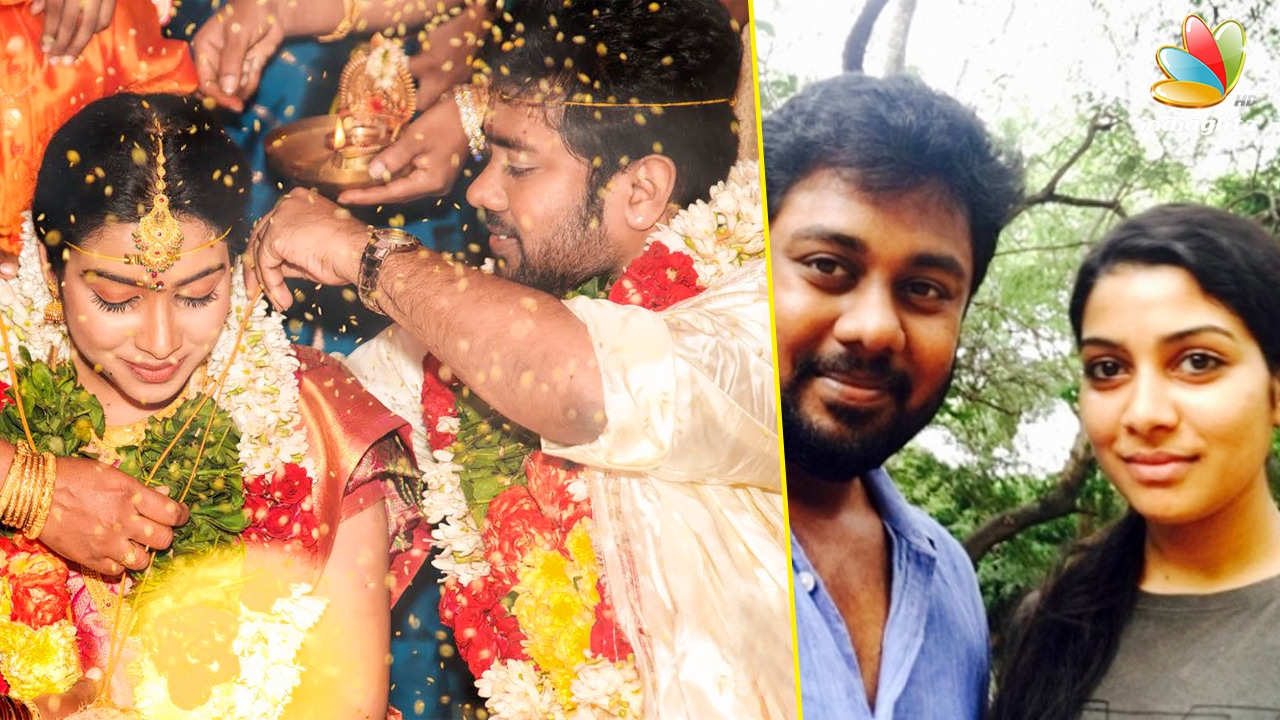 Pichaikkaran actress finally got married