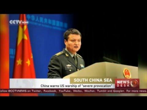 #SouthChinaSea: #China warns US warship of 'severe provocation'