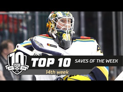 17/18 KHL Top 10 Saves for Week 14