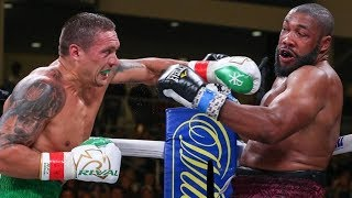 USYK 7th RD TKO! Heavyweight DEBUT vs Chazz Witherspoon