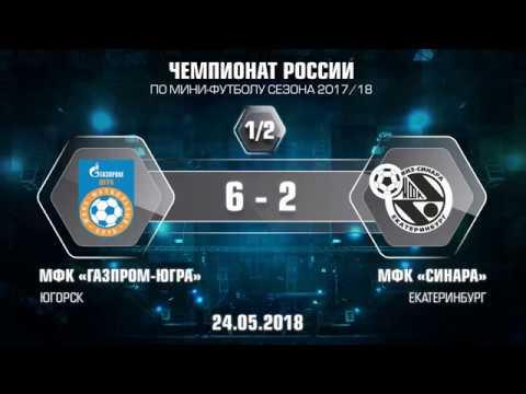 1-2 финала. Газпром-ЮГРА - Синара. 6-2. Второй матч