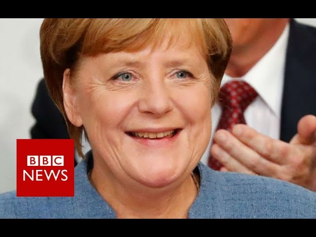 German Elections:  Chancellor Angela Merkel re-elected for fourth term- BBC News