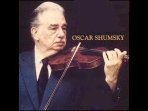 Shumsky playing Kreisler's Londonderry Air
