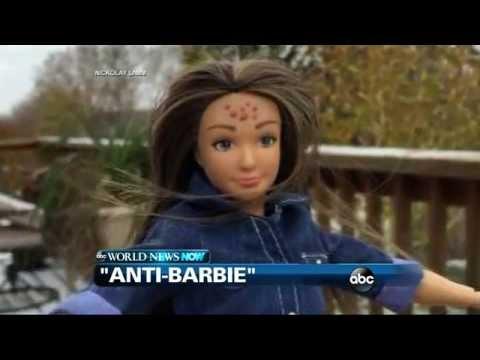 WEBCAST: Artist Creates 'Anti-Barbie'