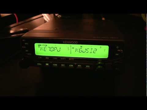Kenwood TM-V71a Review & walkthrough