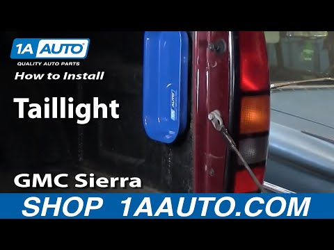 How To Install Replace Taillight Chevy Silverado GMC Sierra 99-06 1AAuto.com