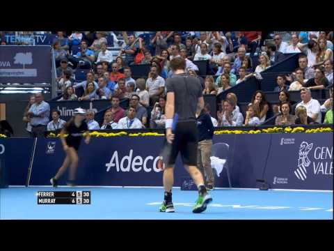 Andy Murray Hot Shot Valencia 2014 Semi-finals