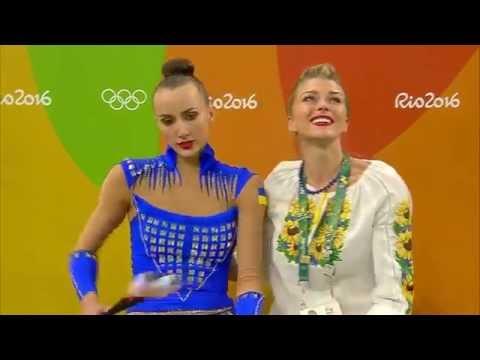 Women's individual all-round final  Rhythmic Gymnastics  Rio 2016  SABC