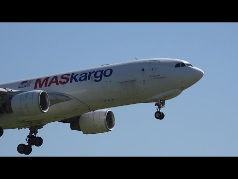 Malaysia Airlines(MASkargo) Airbus A330-200F 9M-MUB Landing and Takeoff [NRT/RJAA]