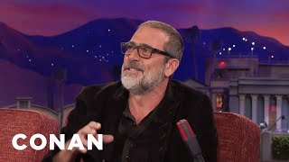 """Walking Dead"" Fans Love To Hate Jeffrey Dean Morgan  - CONAN on TBS"