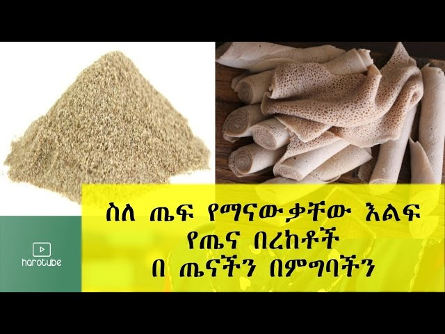 Ethiopia: Surprising Benefits of Teff Grain