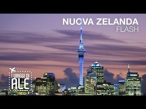 NUOVA ZELANDA / NEW ZEALAND (Auckland) in un minuto - I Viaggi di Ale